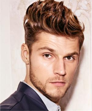 Mann Dauerwelle Mittellange Haare